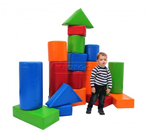 Детский напольный модульный Конструктор Строитель-5 KIDIGO