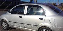 Вітровики вікон Чері КуКу (дефлектори бокових вікон Chery QQ)