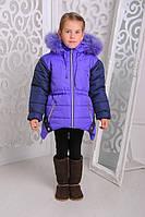 Детская зимняя куртка | Куртка Ушки для девочек