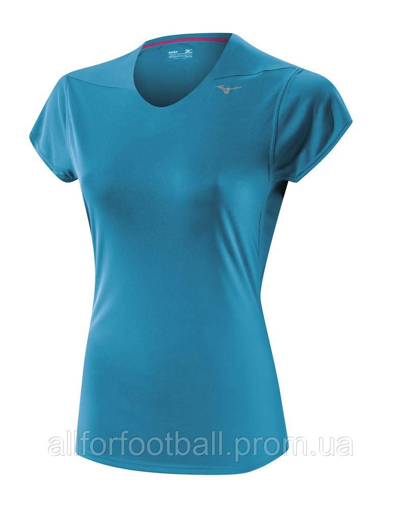 Женская спортивная футболка Mizuno Core Tee - All for football в Харькове