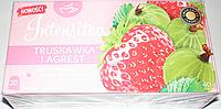 Чай пакетированный INTENSITEA Truskawka i Agrest 20пак