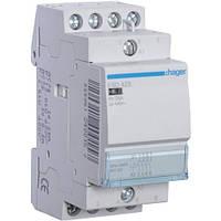Контактор Hager ESD425 - 24В/25A, 4НО