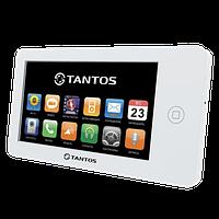 """Tantos NEO (White) - 7"""" сенсорный видеодомофон с фото\видео записью, датчиком движения"""