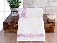 Набор полотенец Irya - Lavinya розовый (30*50+50*90)