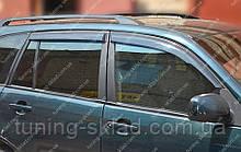 Вітровики вікон Чері Тігго 1 (дефлектори бокових вікон Chery Tiggo 1)