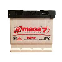 Аккумулятор 6СТ-50 левый + A-Mega Ultra M7