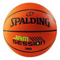 Мяч баскетбол №7 SPALDING JAM SESSION BRICK (резина, бутил, коричневый)