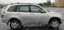 Вітровики вікон Чері Тігго 2 2010- (дефлектори бокових вікон Chery Tiggo 2)