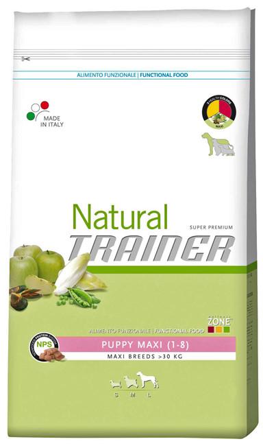 Корм для щенков крупных пород Trainer Natural Puppy Maxi