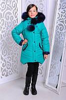 Стильная зимняя куртка | Куртка для девочек Яна