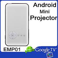 Portable DLP Mini Smart Projecter VenBOX EMP01 Android 4.4, Wifi, HDMI Out 1080p, Audio