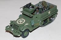 """Модели бронетранспортёров 1:72. Американский полугусеничный бронетранспортёр """"М-3"""". 2-ая мировая война."""