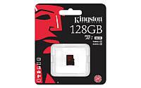 Карта памяти Kingston 128GB microSDXC C10 UHS-I U3 R90/W80MB/s 4K (SDCA3/128GBSP)