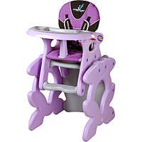 Стульчик для кормления Caretero Primus Purple
