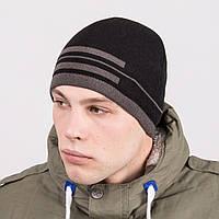 Вязаная модная мужская шапка casual - Артикул m51b