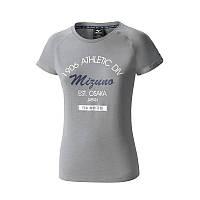 Женская спортивная футболка Mizuno Women Heritage Tee