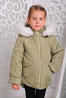 Детская зимняя куртка с меховой опушкой | Мария