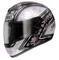 Мотошлем Shoei Raid II Vogue TC-7 черный розовый белый  L