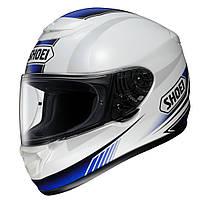 Мотошлем Shoei Qwest Paragon TC-2 белый синий XL