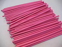 Палочки для кейк-попсов розовые Украина 15 см
