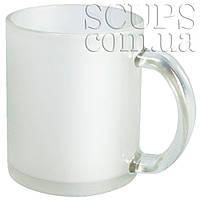 Чашка для сублимации стеклянная (матовая ) frouzen