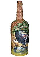 """Подарочная  бутылка """"Послеобеденный отдых"""", подарок на день автомобилиста"""