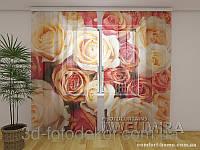 ФотоТюль Карамельные розы