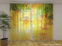 ФотоТюль Цветы осени