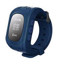 Детские умные GPS часы Smart Baby Watch Q50 с трекером отслеживания (синие). РУССКАЯ ВЕРСИЯ!