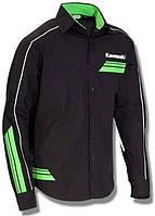 Рубашка Kawasaki SP2 черный зеленый S/M
