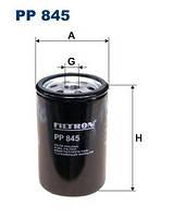 Фильтр топливный FILTRON PP845; MANN WK7231; CLEAN DN256; 364624, 2109700 на Scania 113, 143, 93