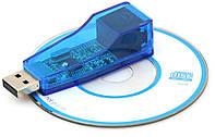 USB RJ45 сетевая карта адаптер Ethernet бел #100141