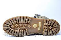 Ботинки мужские Shark кожа, на меху, фото 2