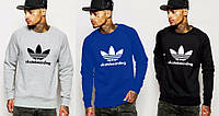 Спортивная кофта Adidas\Адидас, серая, синяя, черная, ф54