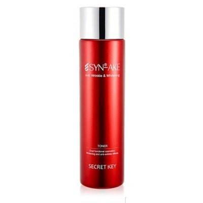 Антивозрастной тонер со змеиным ядом Secret Key SYN-AKE Anti Wrinkle Whitening Toner, 150 мл, фото 2