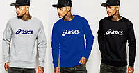 Спортивная кофта Asics\Асикс, серая, синяя, черная, ф88