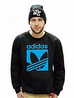 Спортивная кофта Adidas\Адидас, черная ф87