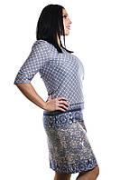 Женское трикотажное платье с купоном, фото 1