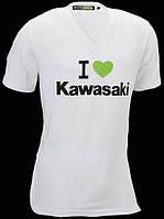 Футболка Kawasaki I Love Kawasaki M
