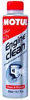 Motul engine clean auto присадка в моторное масло перед его заменой, бензиновые и дизельные двигатели 816115