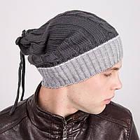 Стильная мужская шапка-трансформер - Артикул m12a