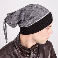 Стильная мужская шапка-трансформер - Артикул m12d