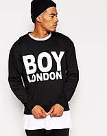 Спортивная кофта Boy London\Бой Лондон, черная, трикотаж, двухнитка, ф3931