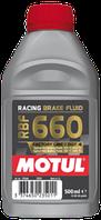 Тормозная жидкость Motul racing brake fluid 660 factory line 500 мл 847205