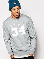 Спортивная кофта Nike 34\Найк 34, серая, весна-лето, ф3991