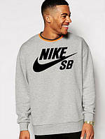 Спортивная кофта Nike, серая, для спорта, ф3998