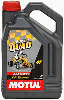 Масло моторное для квадроциклов синтетическое Motul power quad 4t SAE 10w40 (4l) 101469