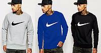 Спортивная кофта Nike, серая, синяя, черная, ф4015