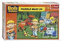 Детские пазлы Боб строитель