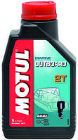 Масло для 2-х тактных двигателей минеральное Motul outboard 2t (1l) 102788